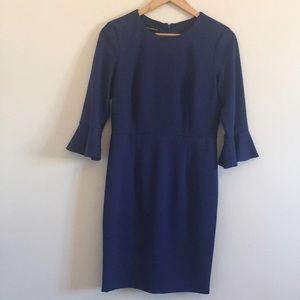 Donna Morgan | Kendall Sheath Dress Bell Sleeve